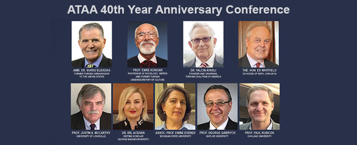 TCA Chairman and Founder Yalcin Ayasli is the keynote speaker at the Assembly of Turkish American Associations 40th Year Anniversary Conference on October 5, 2019.